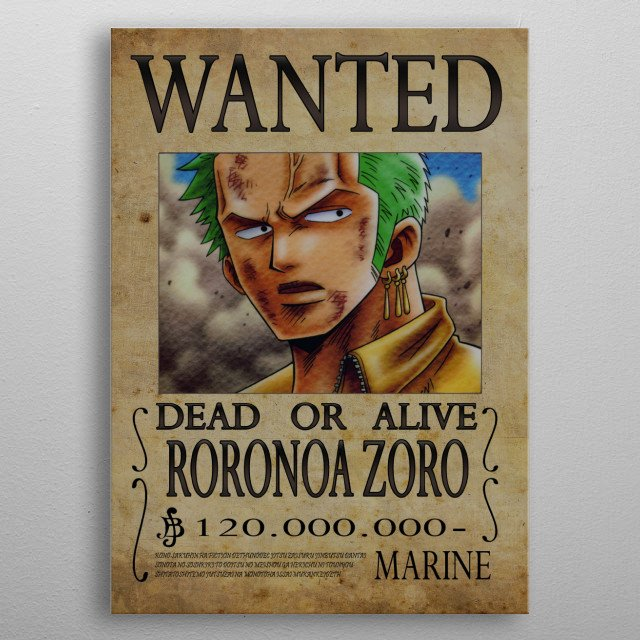 High-quality metal print from amazing Manga collection will bring unique style to your space and will show off your personality. metal poster