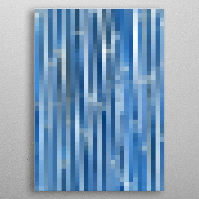 abstract background metal poster