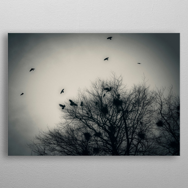 This marvelous metal poster designed by ankihoglund to add authenticity to your place. Display your passion to the whole world. metal poster