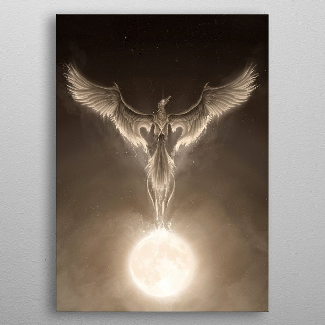 High-quality metal print from amazing Guardians Of The Nat collection will bring unique style to your space and will show off your personality. metal poster