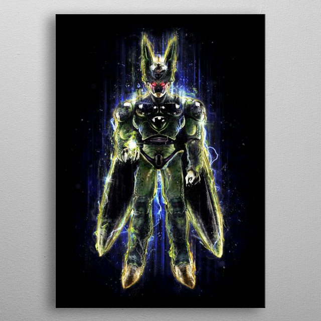 The Perfect Insect Android art by CoD Designs and myself. metal poster