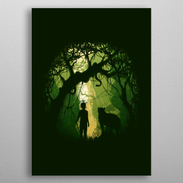 High-quality metal print from amazing Illustrations collection will bring unique style to your space and will show off your personality. metal poster