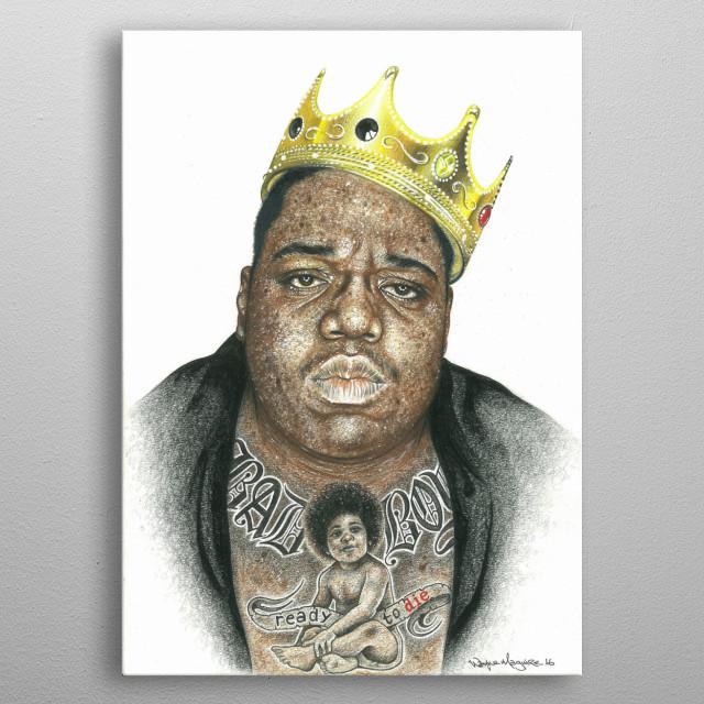 King of New York metal poster
