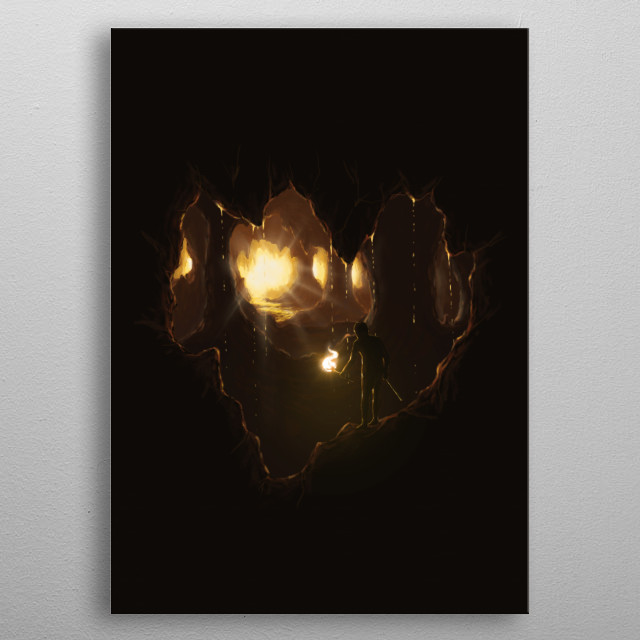Fascinating  metal poster designed with love by flintsky89. Decorate your space with this design & find daily inspiration in it. metal poster
