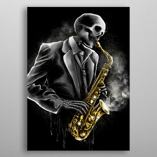 Death Song metal poster