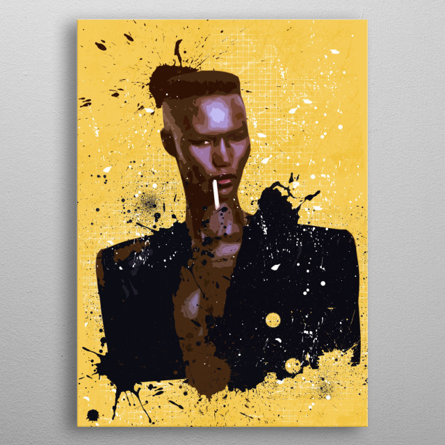 Fascinating  metal poster designed with love by zombieren. Decorate your space with this design & find daily inspiration in it. metal poster