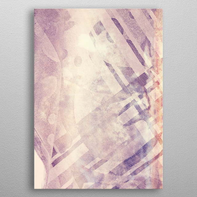 colored clothes metal poster