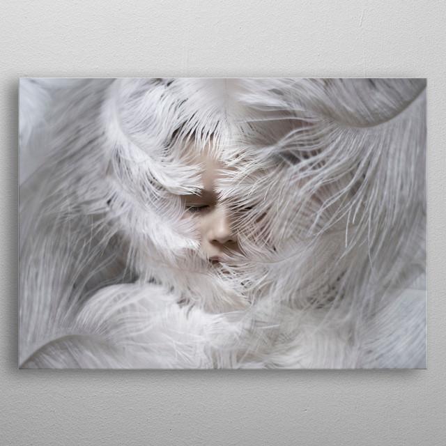 White metal poster