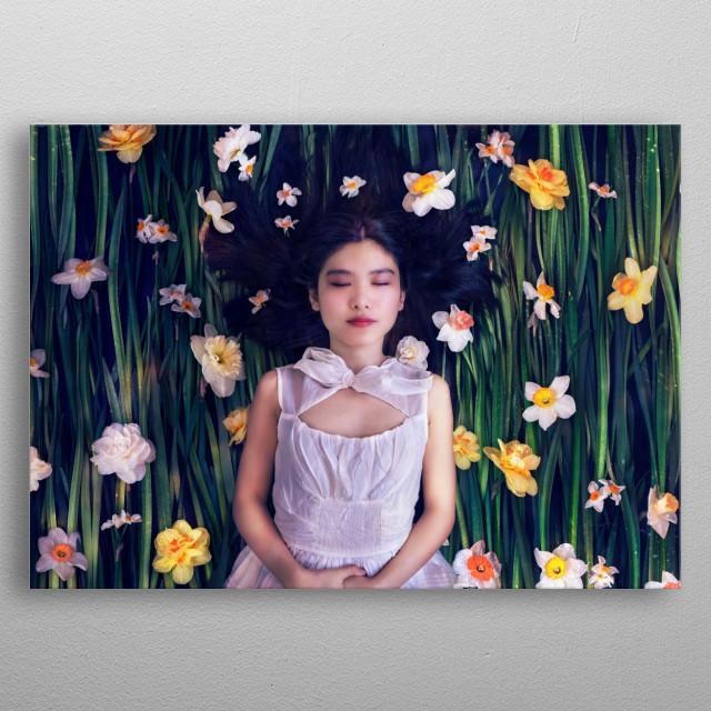 Narzissus metal poster