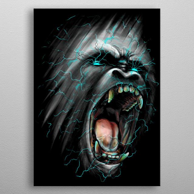 Shockwave metal poster