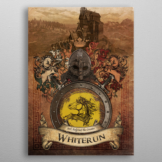 The Horse metal poster