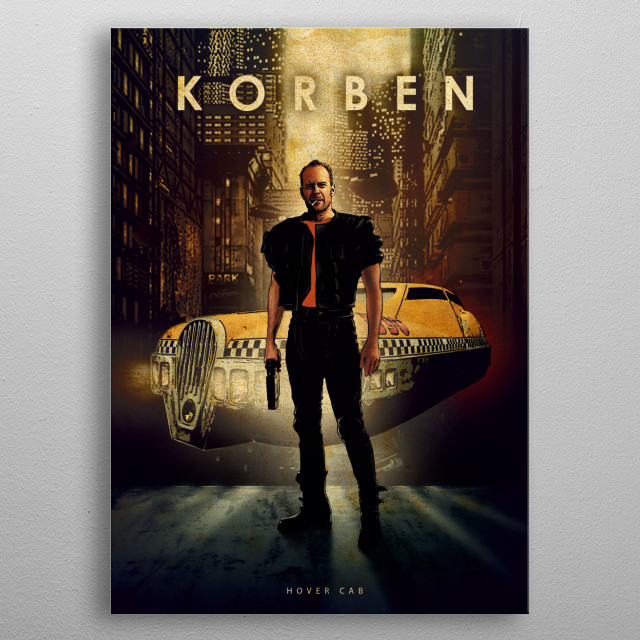Korben metal poster