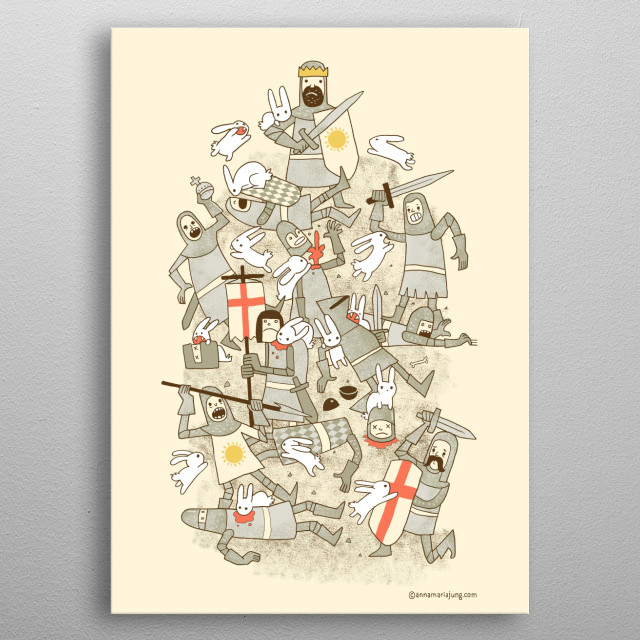Bad Tempered Rodents metal poster