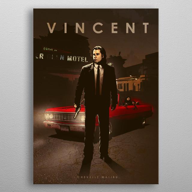 Vincent metal poster