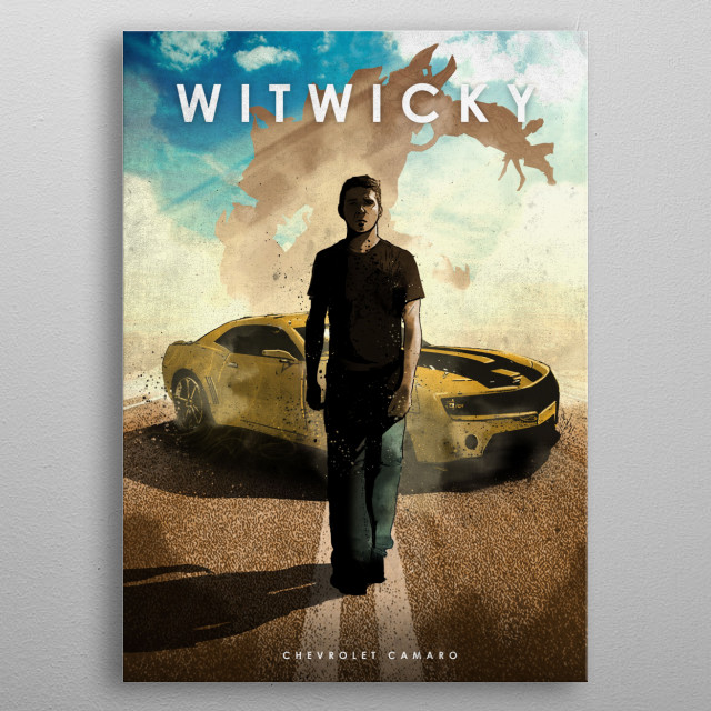 Witwicky metal poster