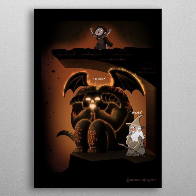Wizardly Shenanigans metal poster