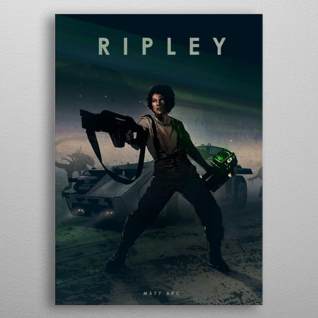 Ripley metal poster