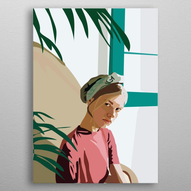 High-quality metal print from amazing Digital Designs collection will bring unique style to your space and will show off your personality. metal poster
