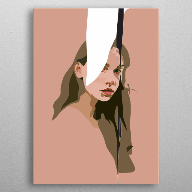 'Clare' metal poster