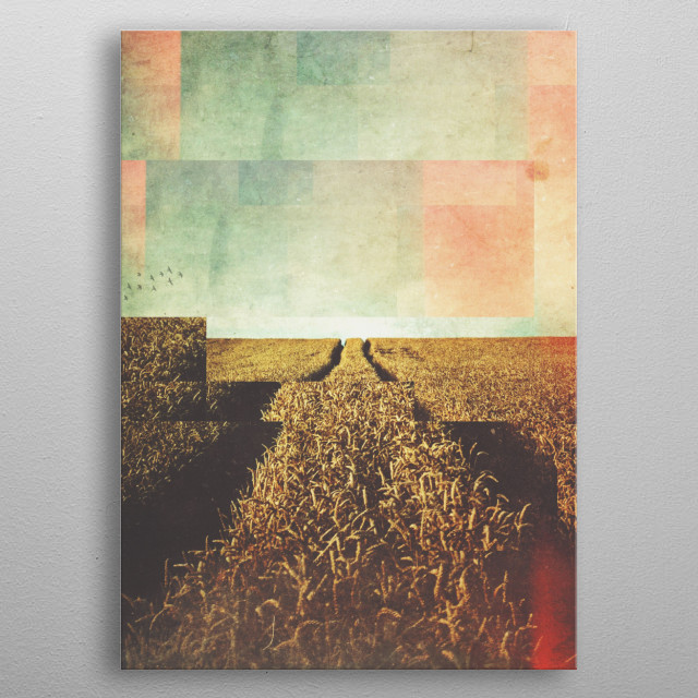 Fractions A11 metal poster