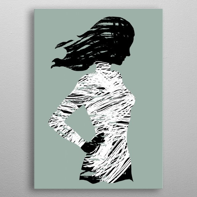 Fascinating  metal poster designed with love by modartisto. Decorate your space with this design & find daily inspiration in it. metal poster