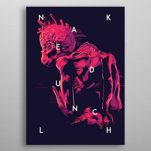 Naked Lunch metal poster