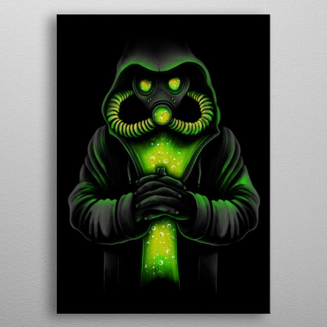 The Toxicity metal poster