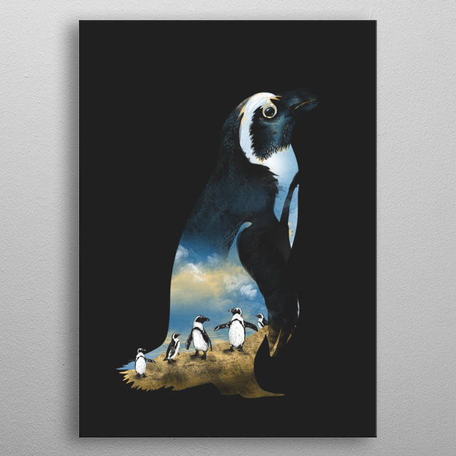 Fly High metal poster