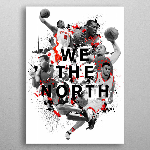 We the North  metal poster