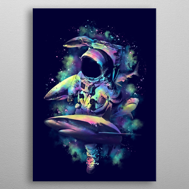 Deepest Space metal poster
