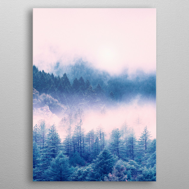 High-quality metal print from amazing Pastel Vibes collection will bring unique style to your space and will show off your personality. metal poster