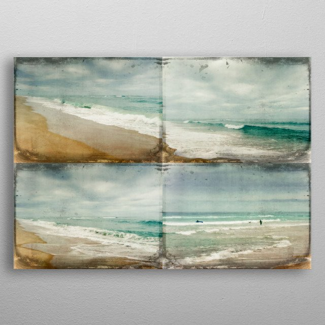 High-quality metal print from amazing The Mighty Ocean collection will bring unique style to your space and will show off your personality. metal poster
