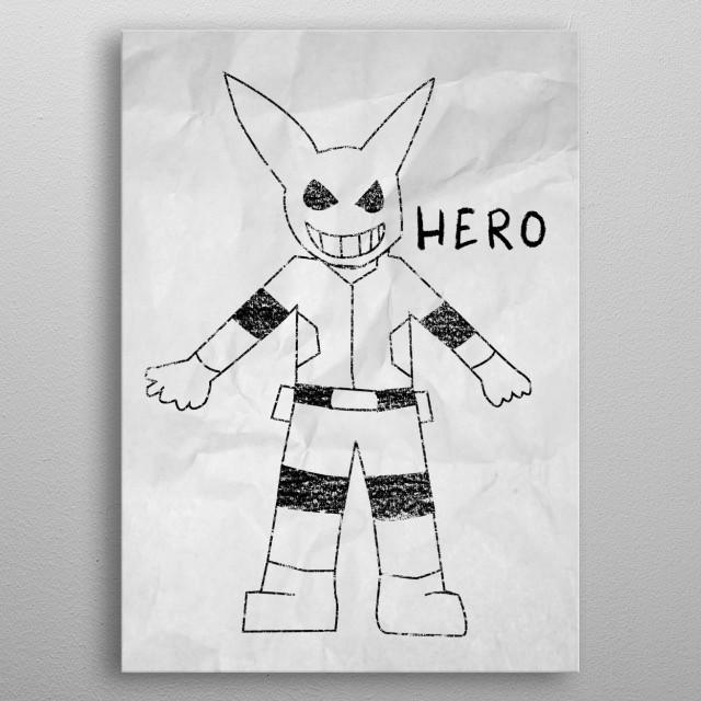 - Child's dream - metal poster