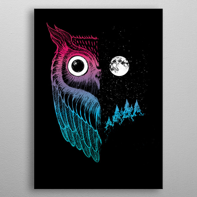 This marvelous metal poster designed by dinomike to add authenticity to your place. Display your passion to the whole world. metal poster