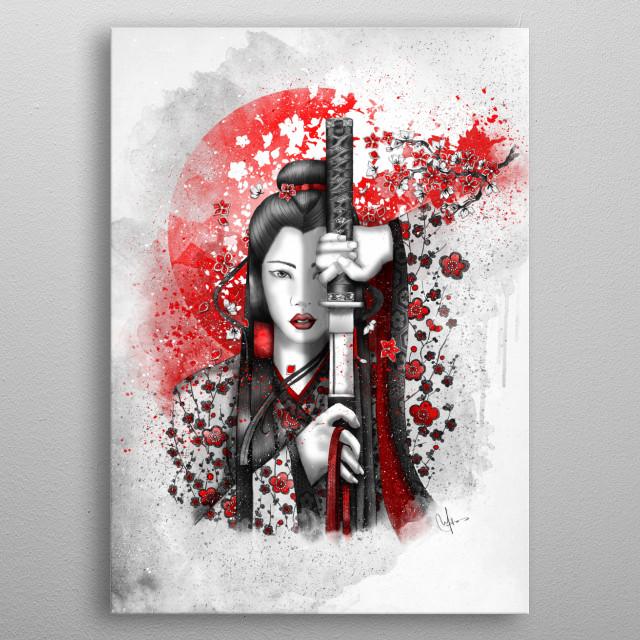 Katsumi - Victorious beauty metal poster