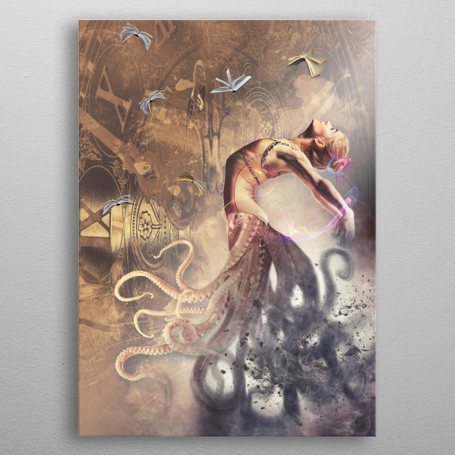 High-quality metal print from amazing One collection will bring unique style to your space and will show off your personality. metal poster
