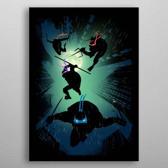Stealth Attack metal poster