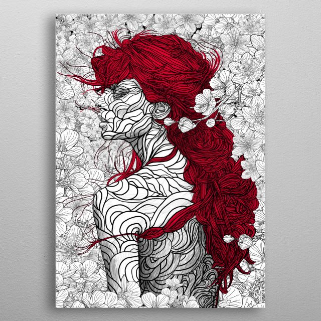High-quality metal wall art meticulously designed by pedrotapa would bring extraordinary style to your room. Hang it & enjoy. metal poster