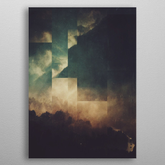 Fractions A20 metal poster