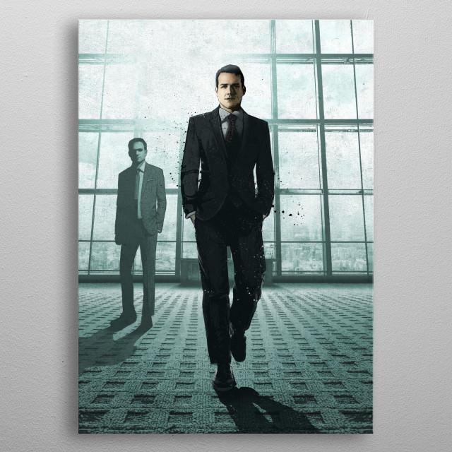 Harvey metal poster