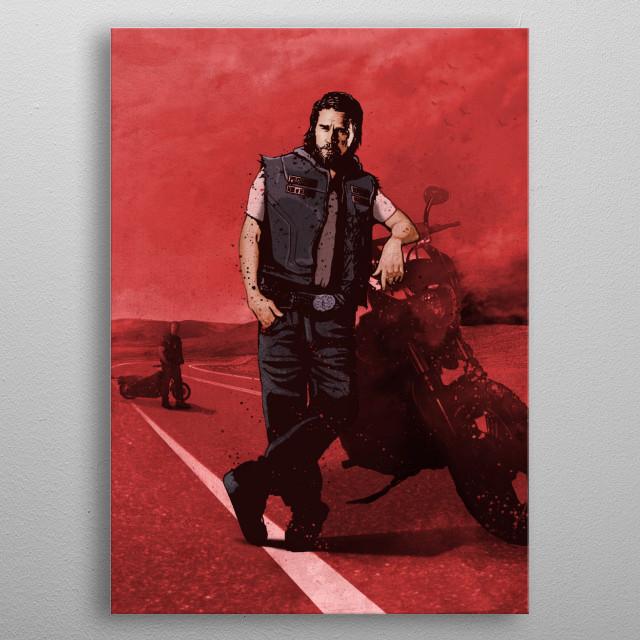 Jax metal poster