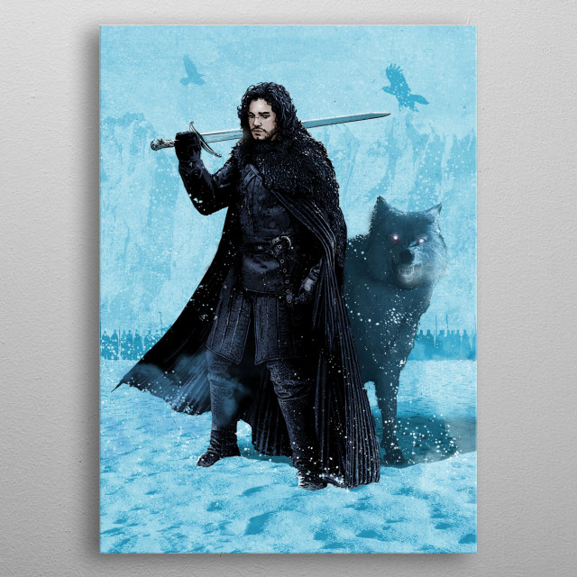 Jon metal poster
