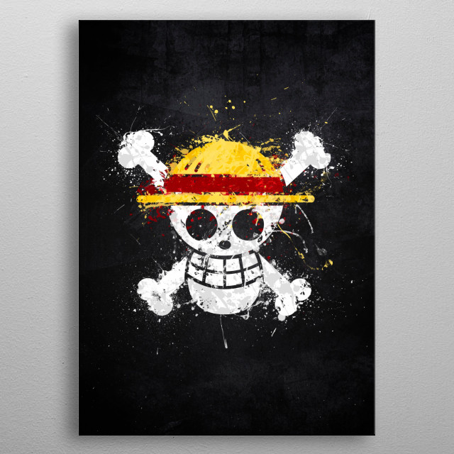 King of the Pirates metal poster