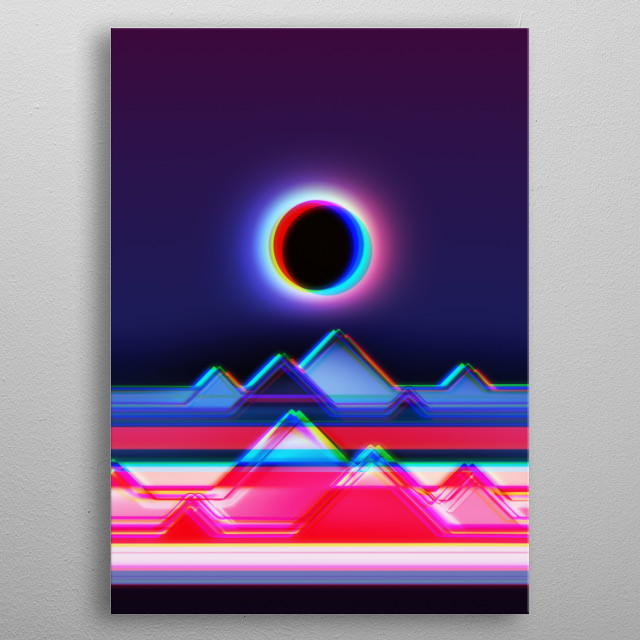 another world... metal poster