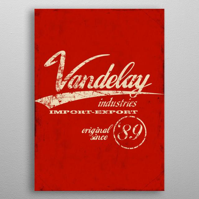 Vandelay Industries metal poster
