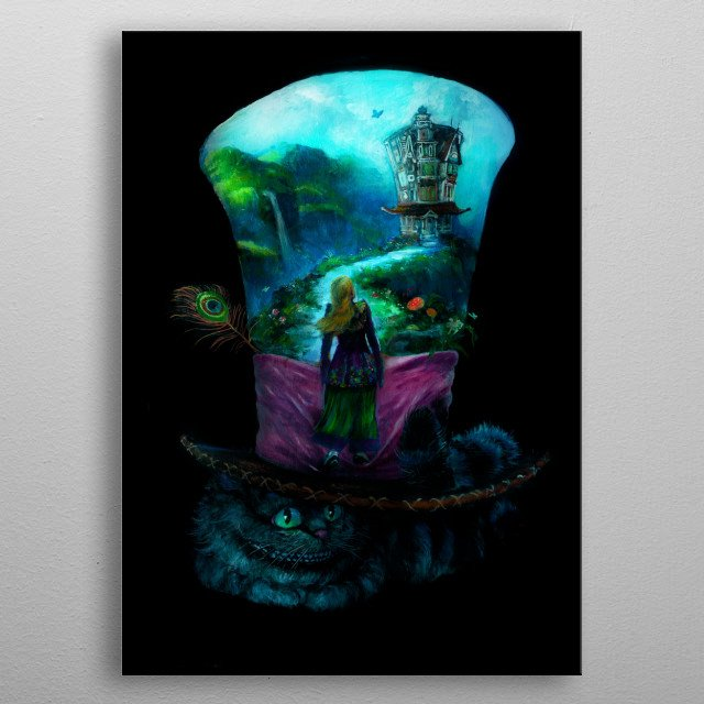 This marvelous metal poster designed by anhing to add authenticity to your place. Display your passion to the whole world. metal poster