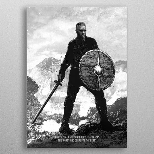 Ragnar metal poster