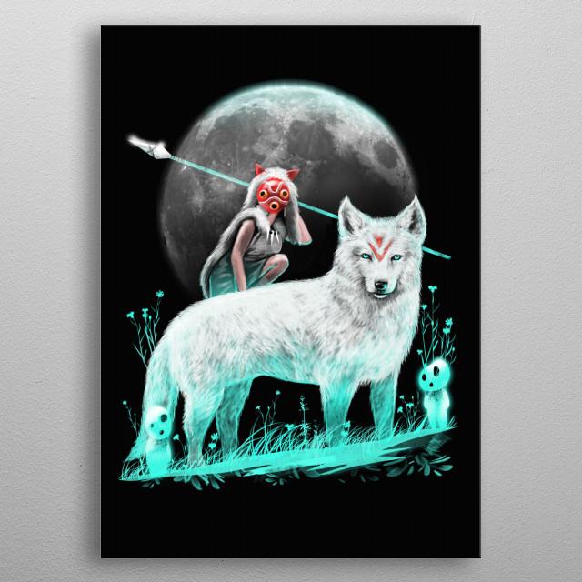 Nightly Spirits metal poster