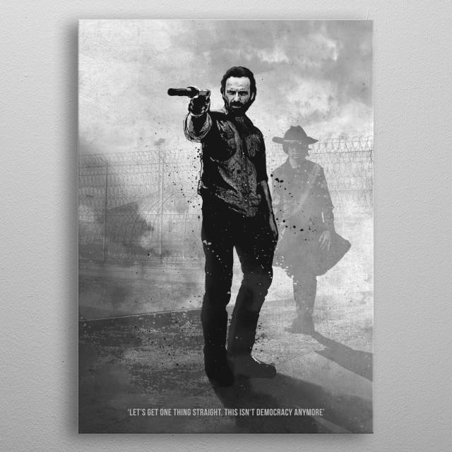Rick metal poster