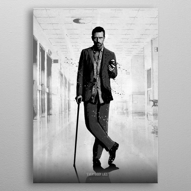 High-quality metal print from amazing Top Dogs collection will bring unique style to your space and will show off your personality. metal poster